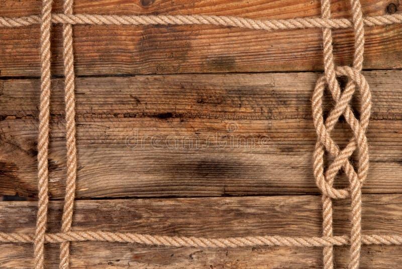 Marco de la cuerda fotografía de archivo