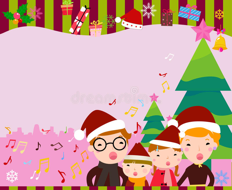 Marco de la Feliz Navidad libre illustration