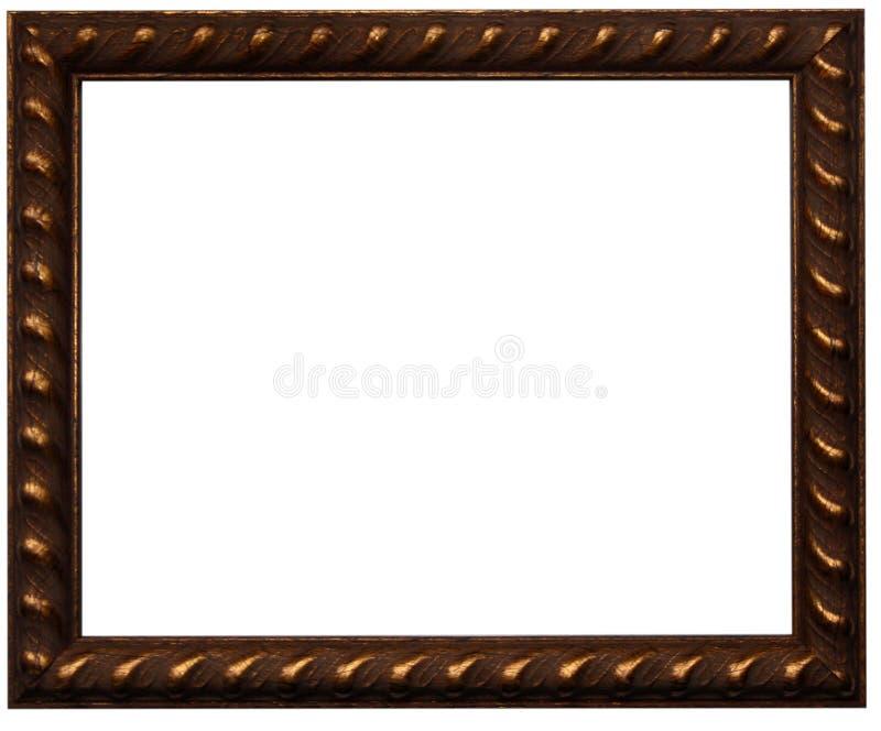 Marco de la foto de Brown imagenes de archivo