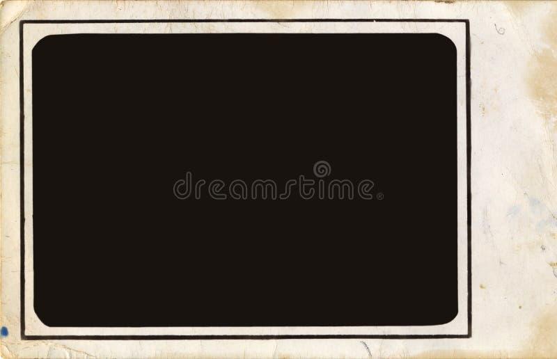 Marco de la foto de la vendimia imágenes de archivo libres de regalías