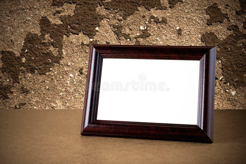 Marco de la foto de la vendimia imagenes de archivo