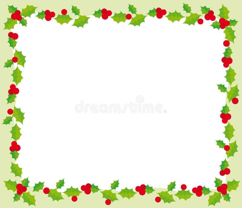 Marco de la Navidad stock de ilustración