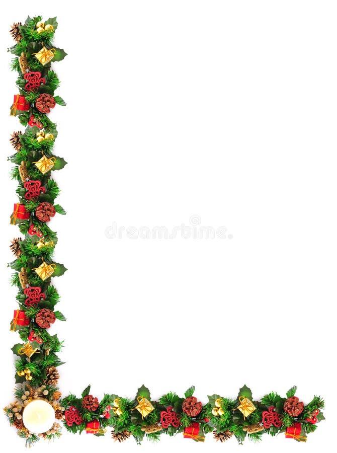 Download Marco de la Navidad foto de archivo. Imagen de estación - 7151116