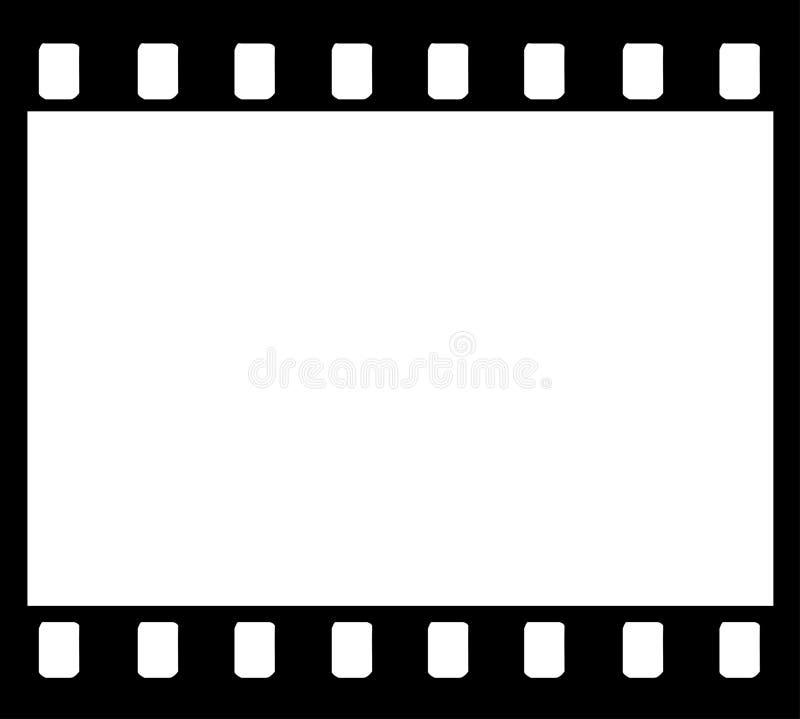 marco de la tira de la película de 35m m ilustración del vector