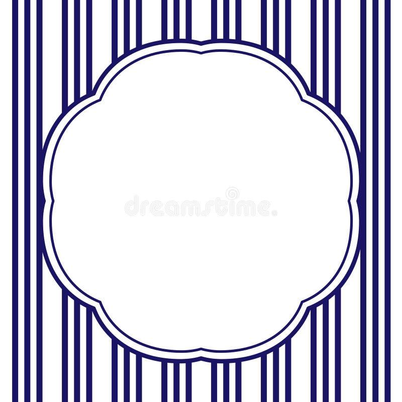 Marco de la vendimia ilustración del vector