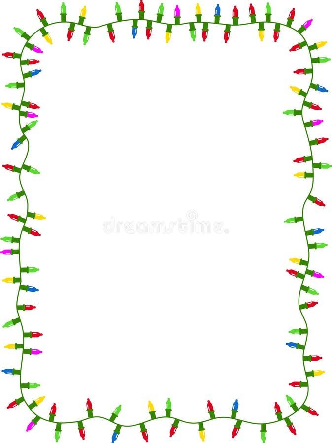 Magnífico Marco De Luces De Navidad Bandera - Ideas Personalizadas ...