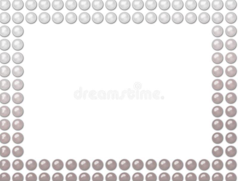 Marco de las perlas stock de ilustración. Ilustración de exposición ...