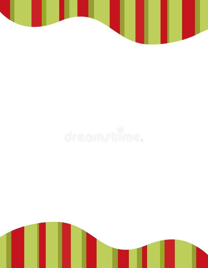 Marco de las rayas stock de ilustración
