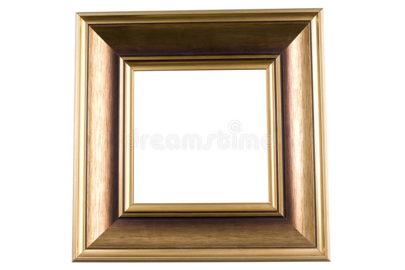 Marco de madera imagenes de archivo