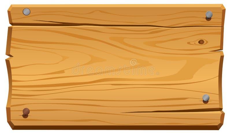 Marco de madera stock de ilustración