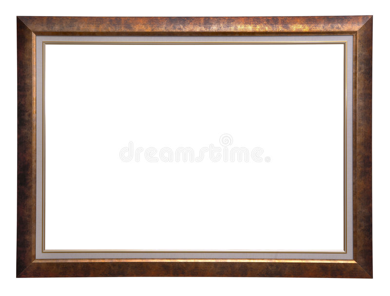 Marco de madera antiguo foto de archivo. Imagen de frontera - 2183832