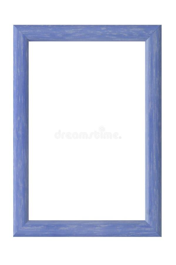 Marco de madera coloreado foto de archivo