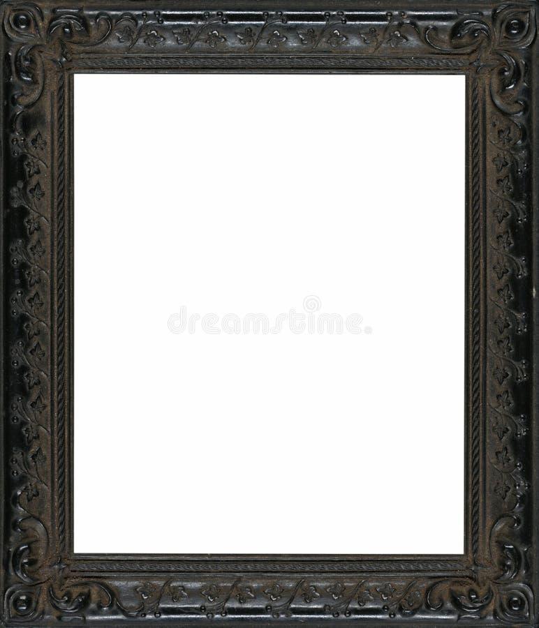 Marco de madera negro imagen de archivo. Imagen de intrincado - 41508113