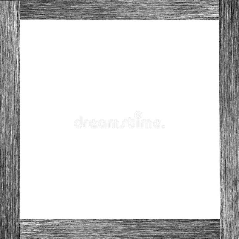 Marco de madera negro foto de archivo libre de regalías