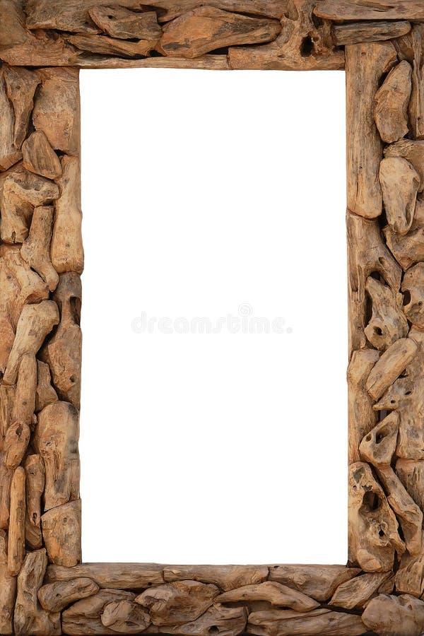Marco de madera rústico foto de archivo. Imagen de frontera - 34459050