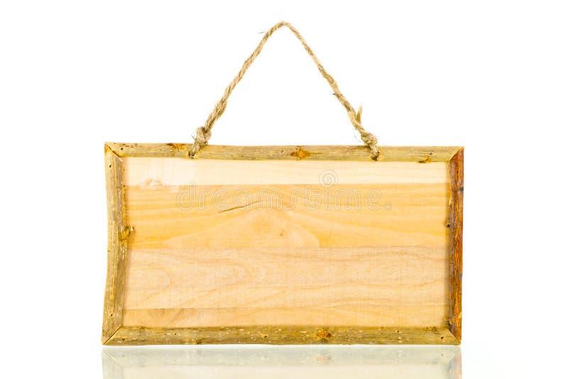 Marco de madera rústico fotografía de archivo