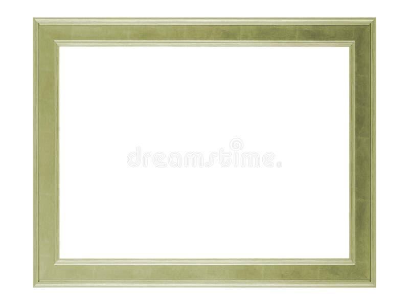 Marco de madera vacío foto de archivo