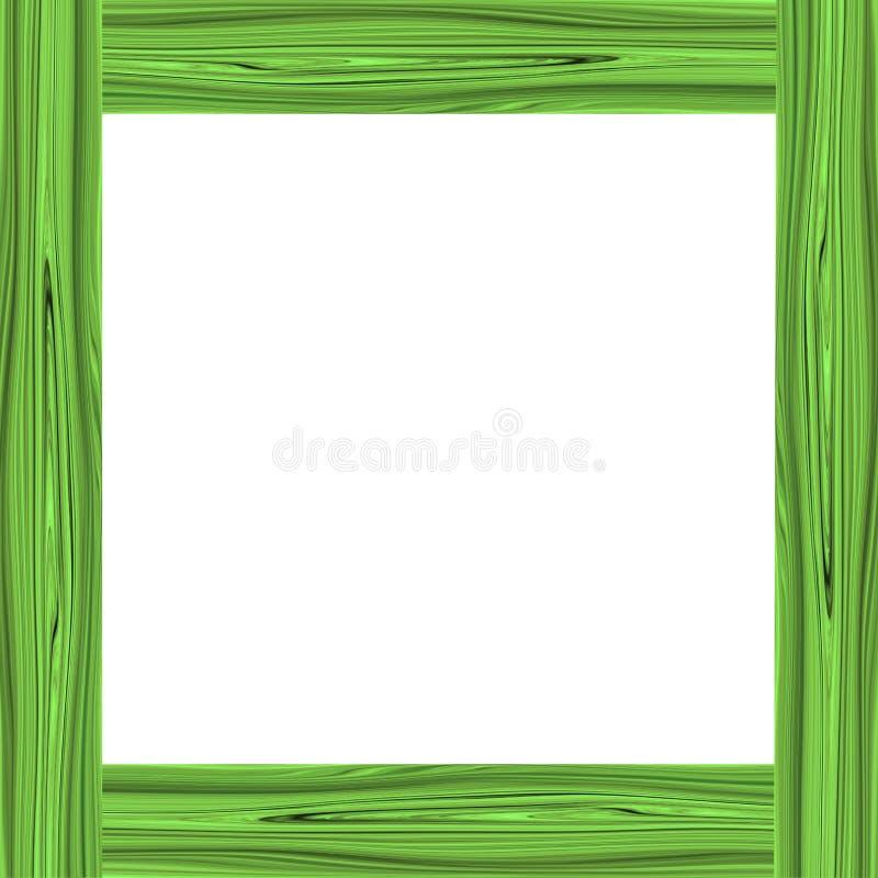 Marco de madera verde imagen de archivo. Imagen de detalle - 41699745