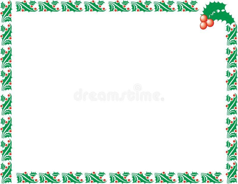 Marco de Navidad imagenes de archivo