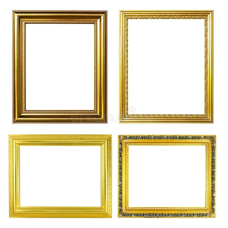 marco de oro 4 fotos de archivo libres de regalías
