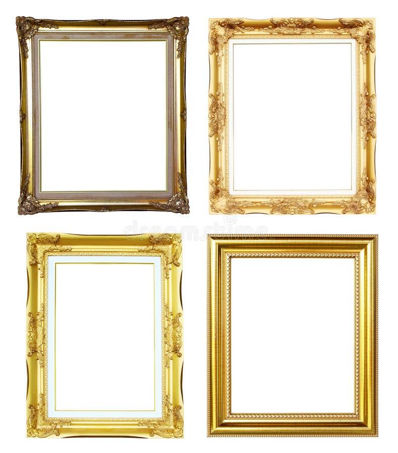 marco de oro 4 fotografía de archivo libre de regalías