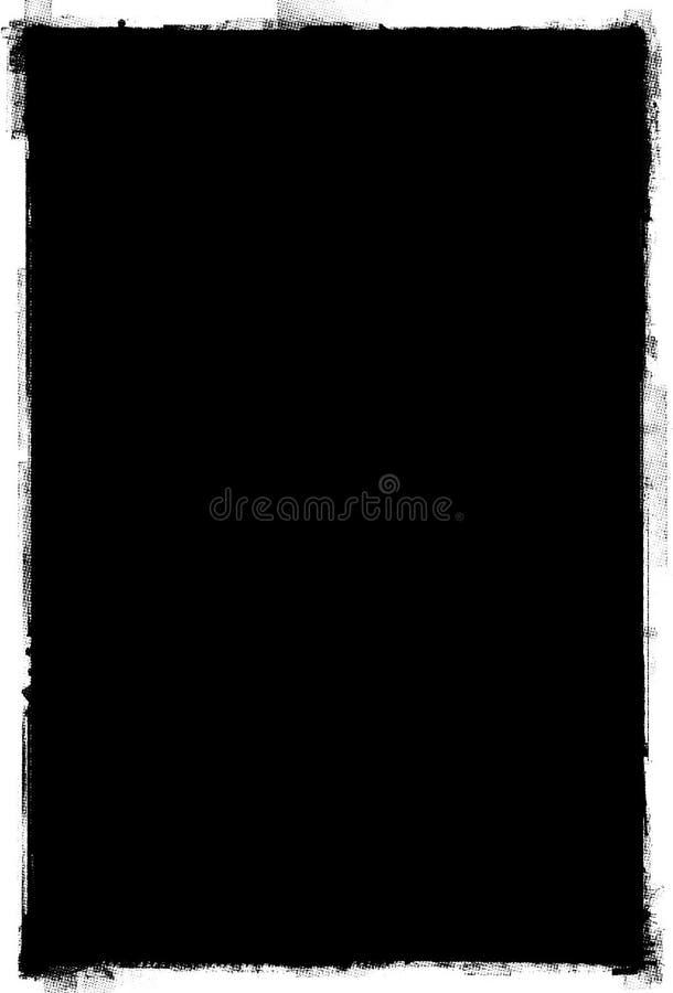 Marco de papel de Grunge ilustración del vector