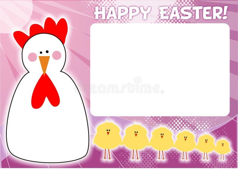 Marco de Pascua ilustración del vector