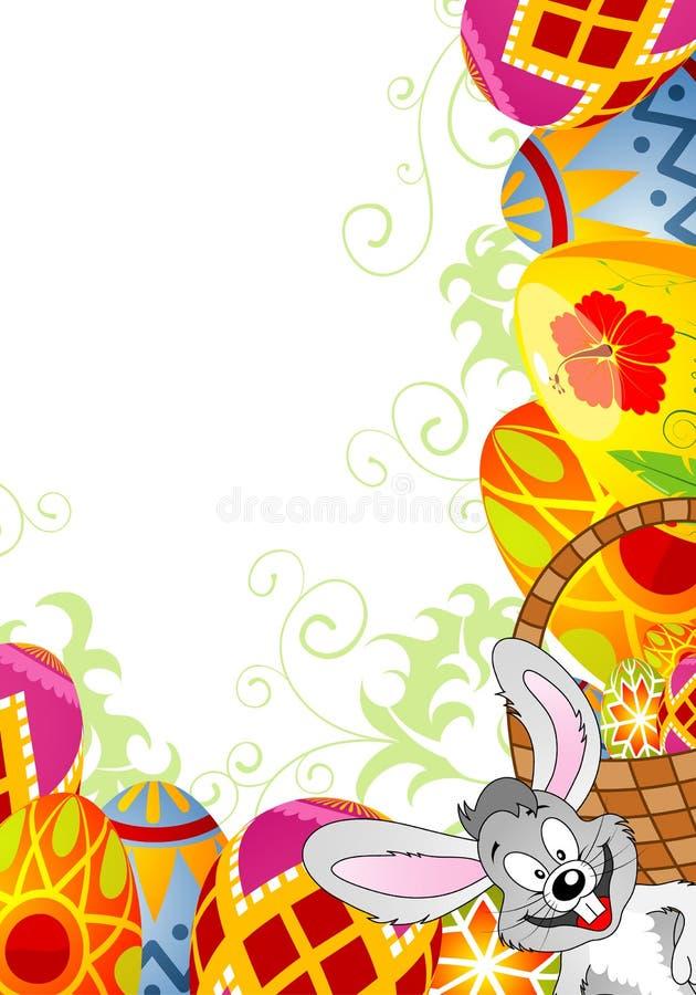 Marco de Pascua stock de ilustración