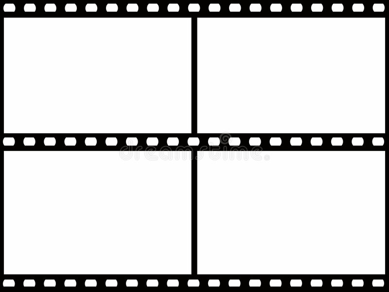 Marco de película stock de ilustración
