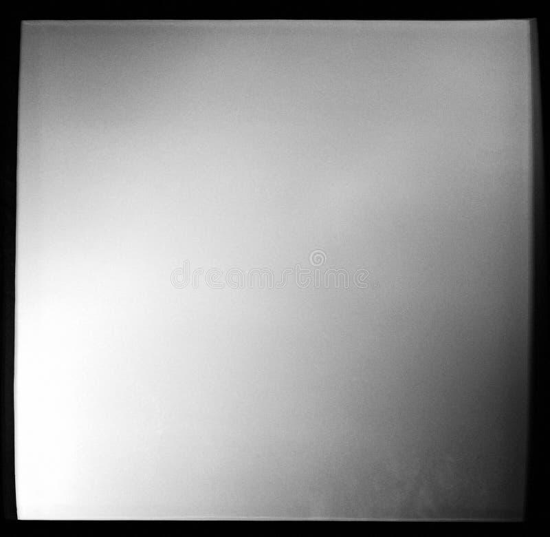 Marco de película blanco y negro vacío fotos de archivo libres de regalías