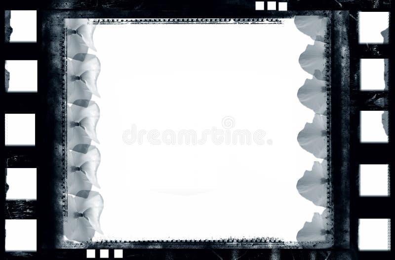 Marco de película de Grunge ilustración del vector