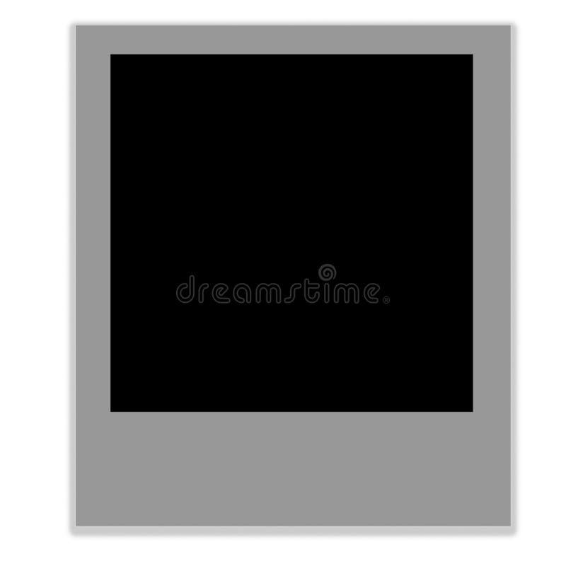 Marco de película polaroid imagenes de archivo