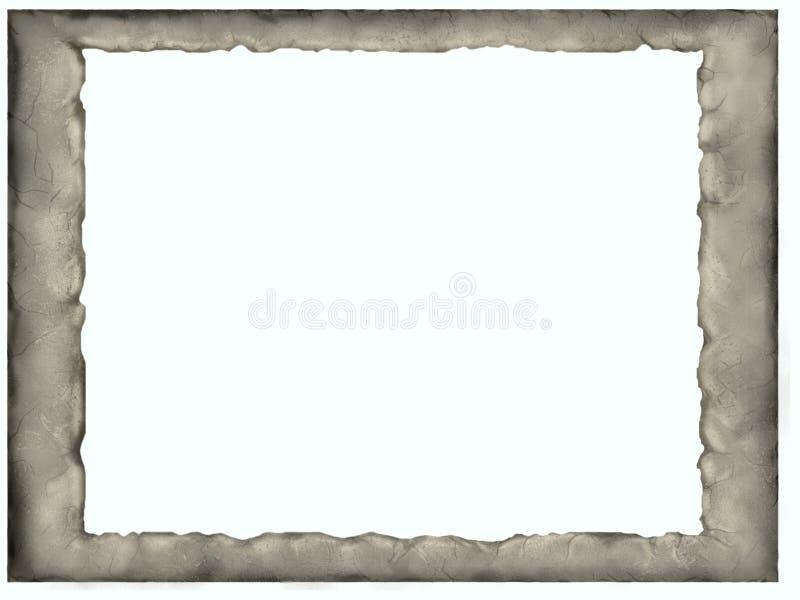 Marco de piedra fotografía de archivo libre de regalías
