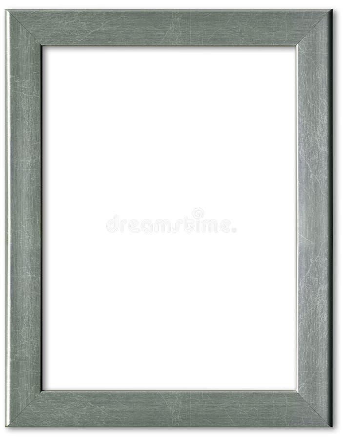 Marco de plata fotografía de archivo libre de regalías