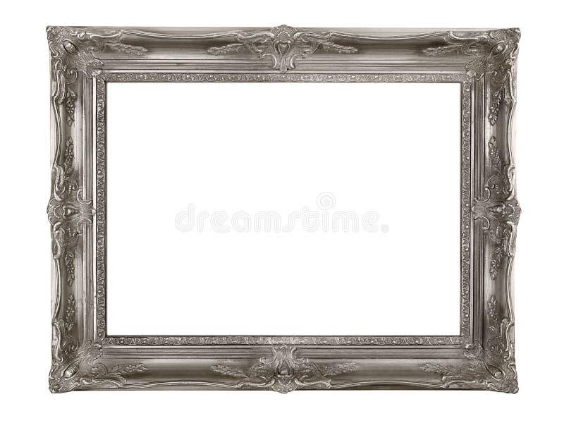 Marco de plata imagen de archivo libre de regalías