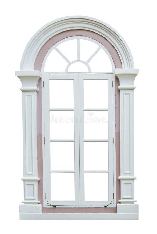 Marco de ventana clásico fotografía de archivo