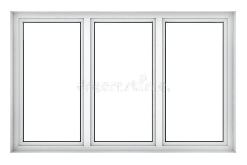 Marco de ventana plástico foto de archivo libre de regalías