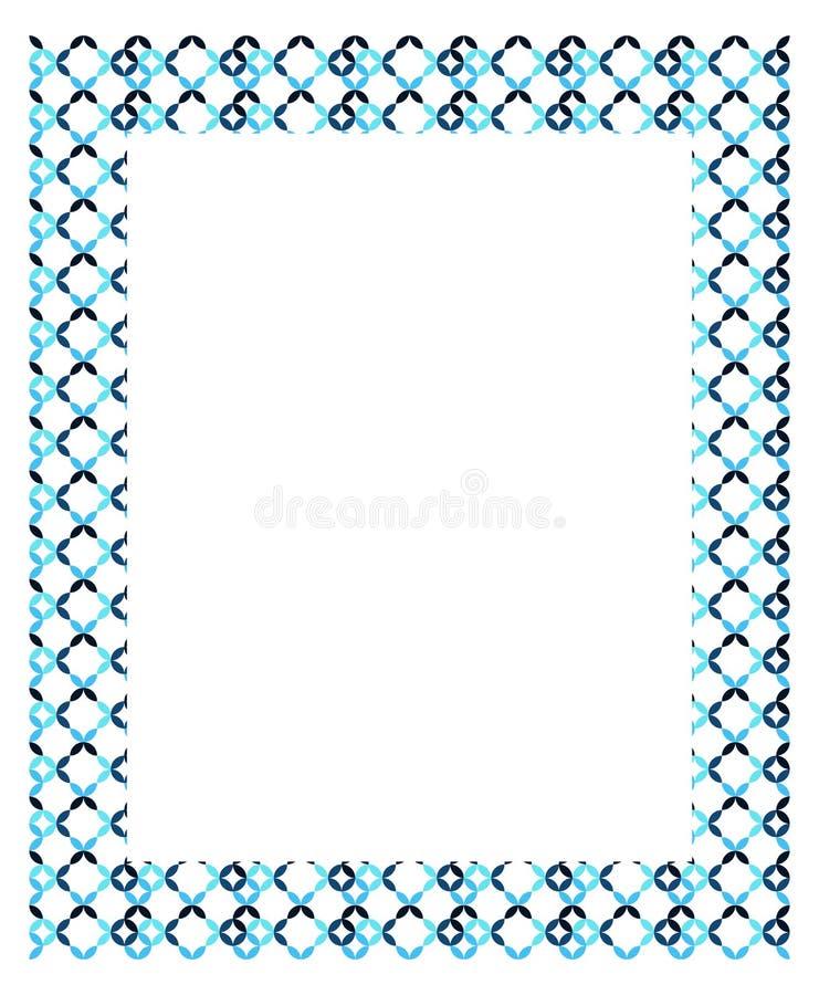 Marco decorativo ilustración del vector
