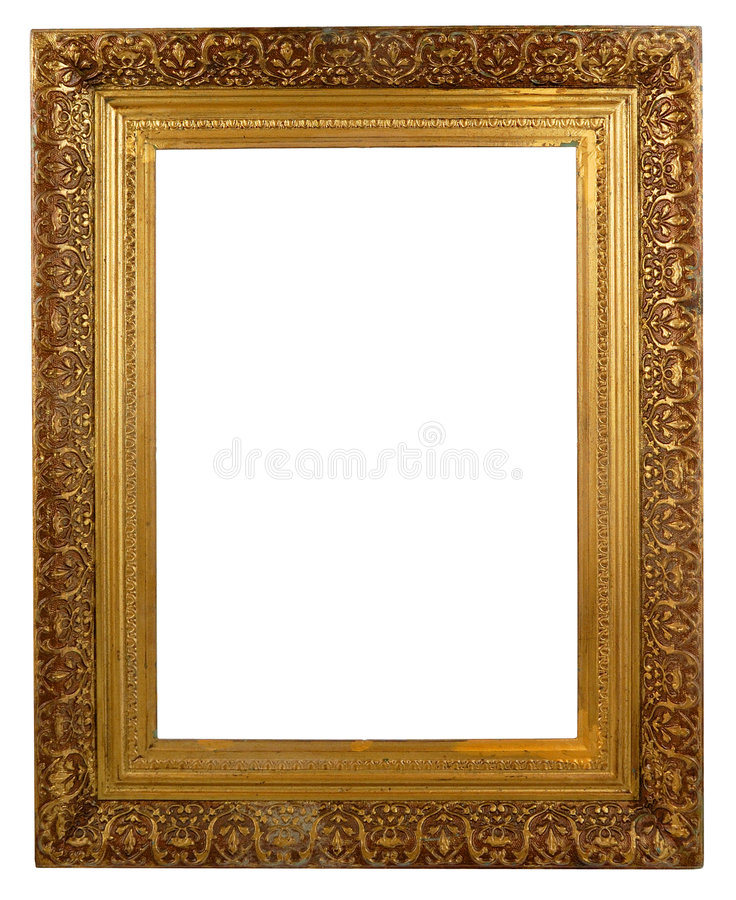 Marco decorativo rectangular fotos de archivo libres de regalías