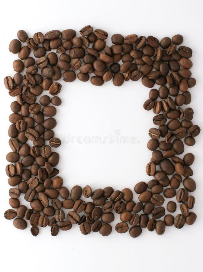 Marco del café imagen de archivo