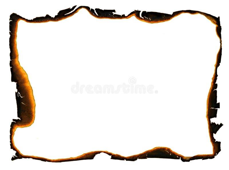 Marco Del Grunge - Bordes Carbonizados Foto de archivo - Imagen de ...
