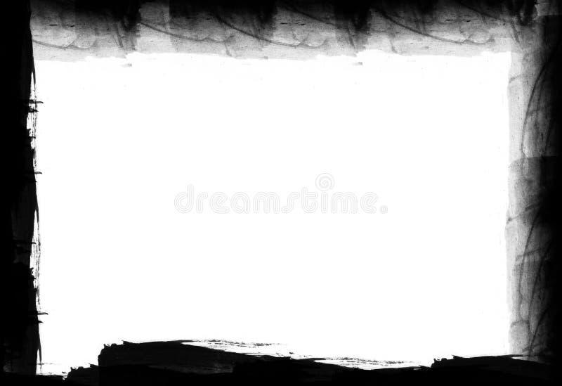 Marco del Grunge - elementos del diseño fotografía de archivo