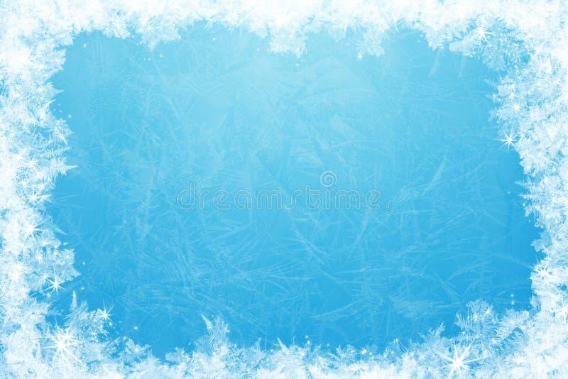 Marco del hielo que brilla imagen de archivo libre de regalías