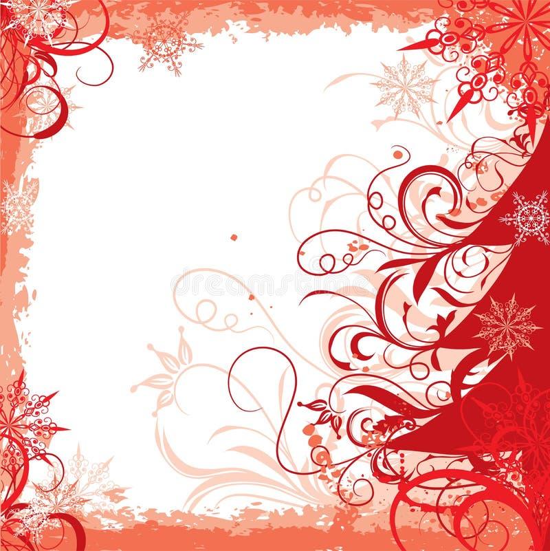Marco del invierno,   stock de ilustración
