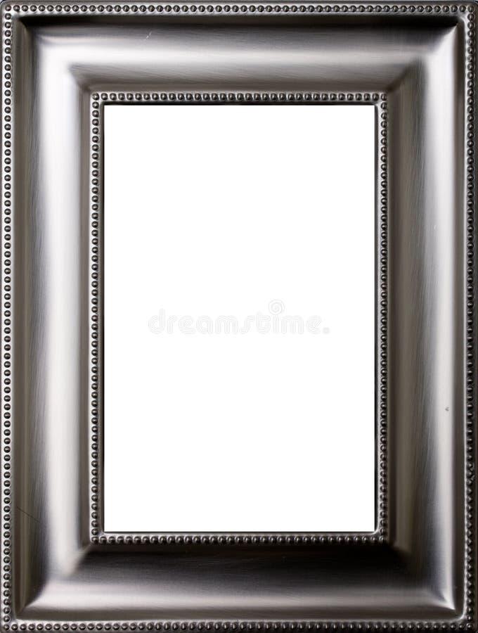 Marco del metal foto de archivo. Imagen de metálico, cuadro - 8476506