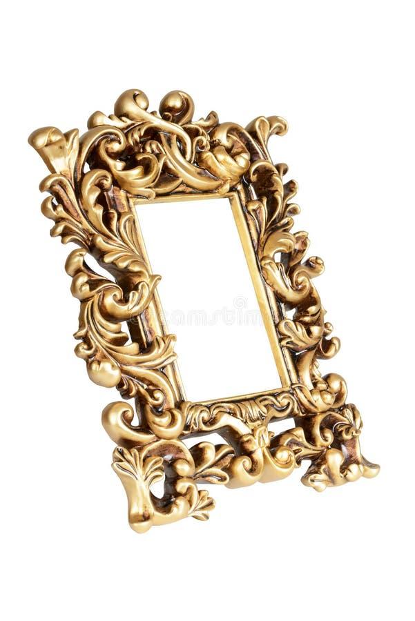 Marco del oro imagen de archivo. Imagen de detalle, galería - 46627741