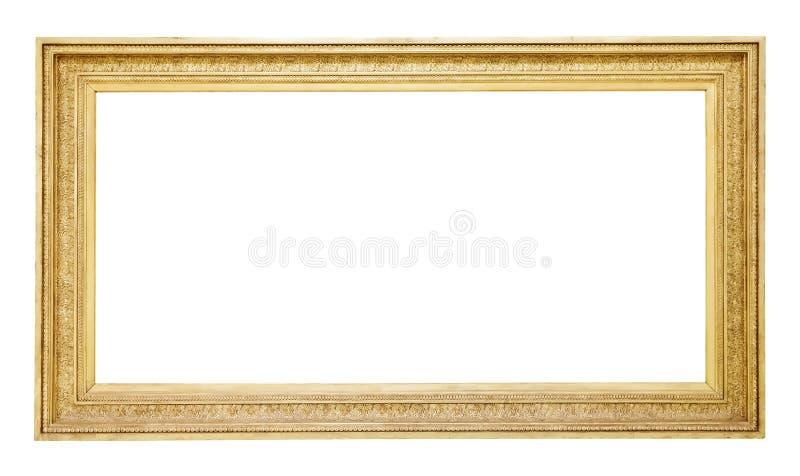 Marco del oro viejo imagen de archivo libre de regalías
