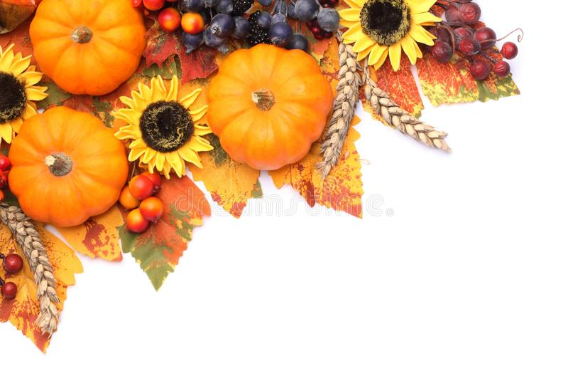 Marco del otoño imagen de archivo