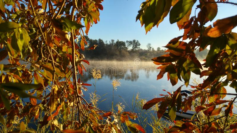 Marco del otoño foto de archivo libre de regalías