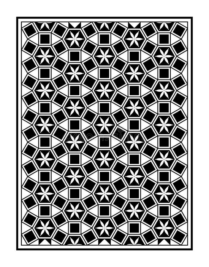 Marco Del Triángulo Del Punto De La Flor De Mosaic Le Domus Romane ...